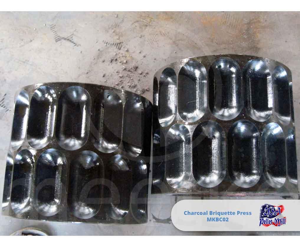 Charcoal Briquette Press 2 Ton-hr MKBC02