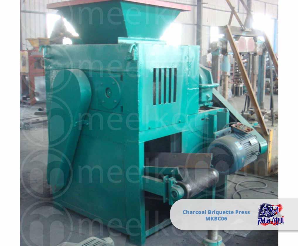 Charcoal Briquette Press 6 Ton-hr MKBC06