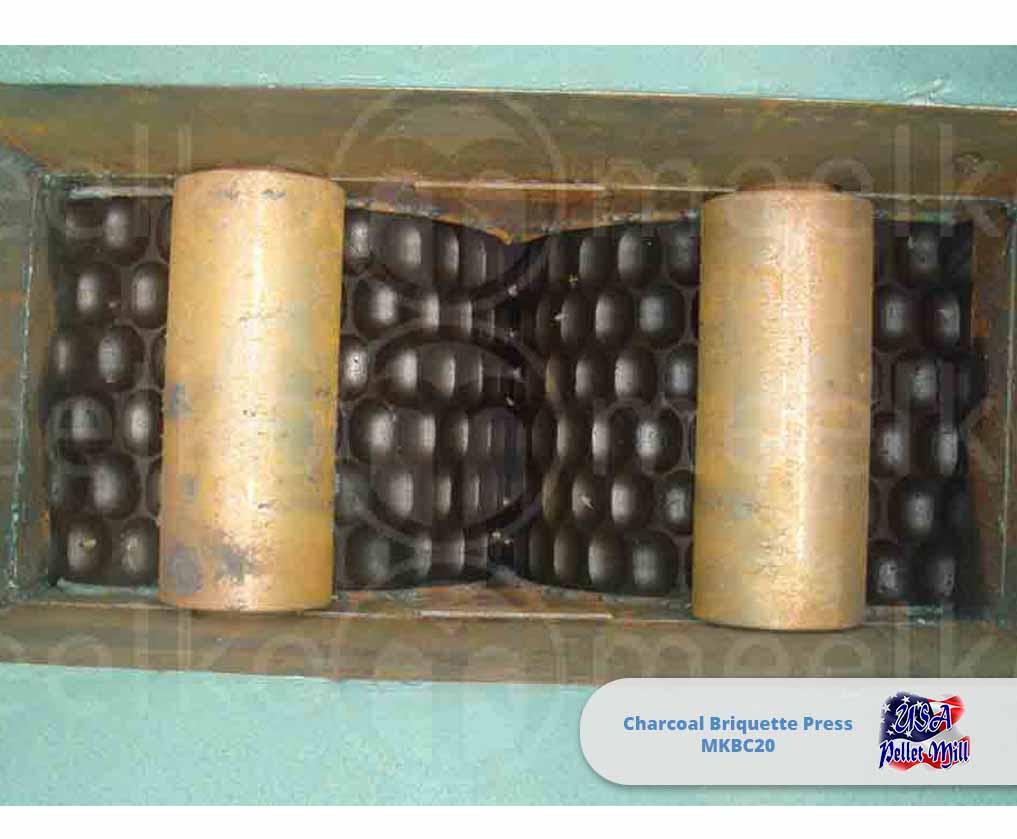 Charcoal Briquette Press 20Ton-hr MKBC20