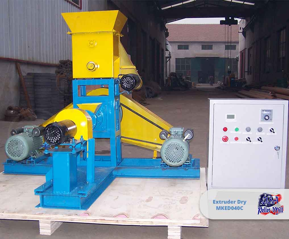 Extruder Dry 5kw MKED040C