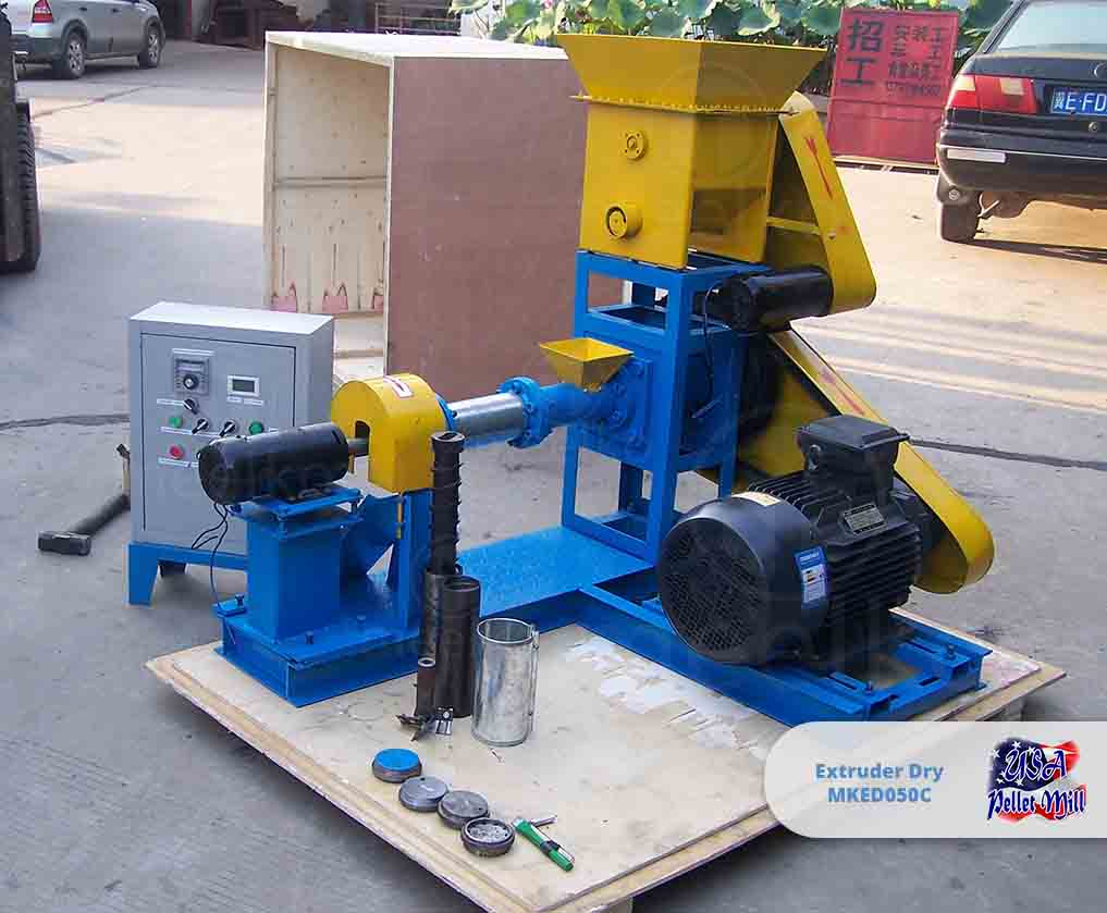 Extruder Dry 11kw MKED050C