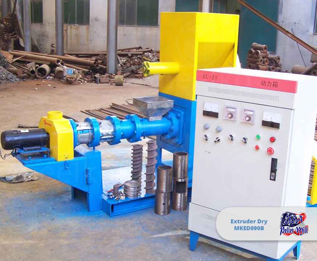 Extruder Dry 37Kw MKED090B