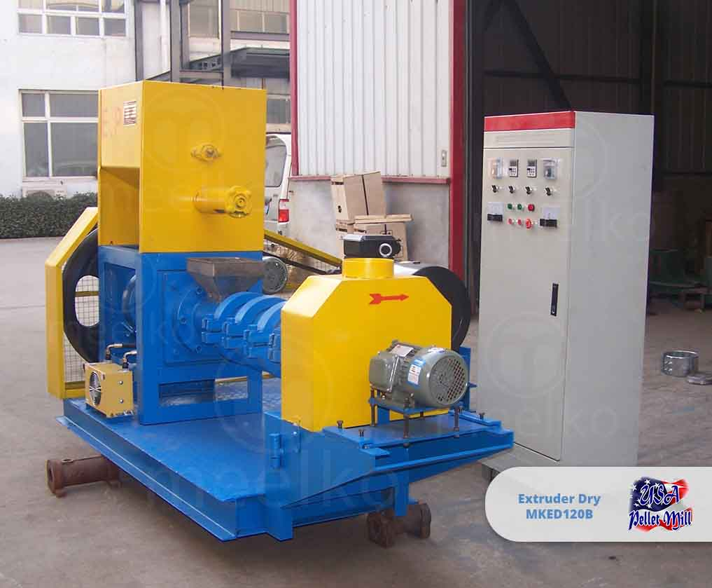 Extruder Dry 55KW MKED120B