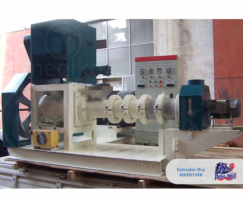 Extruder Dry 75KW MKED135B