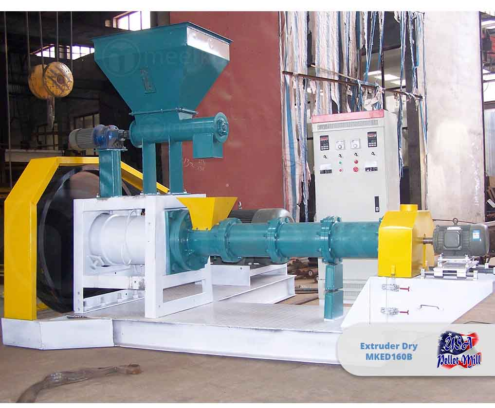 Extruder Dry 90KW MKED160B