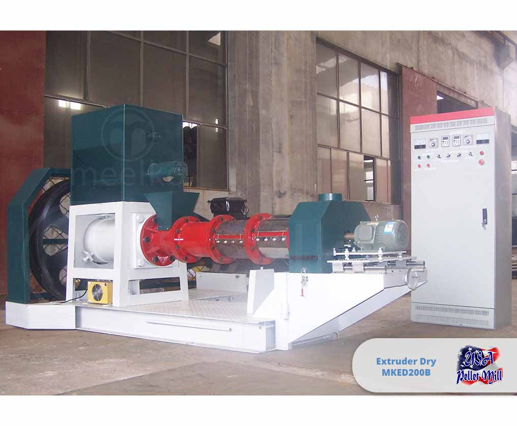 Extruder Dry 132KW MKED200B