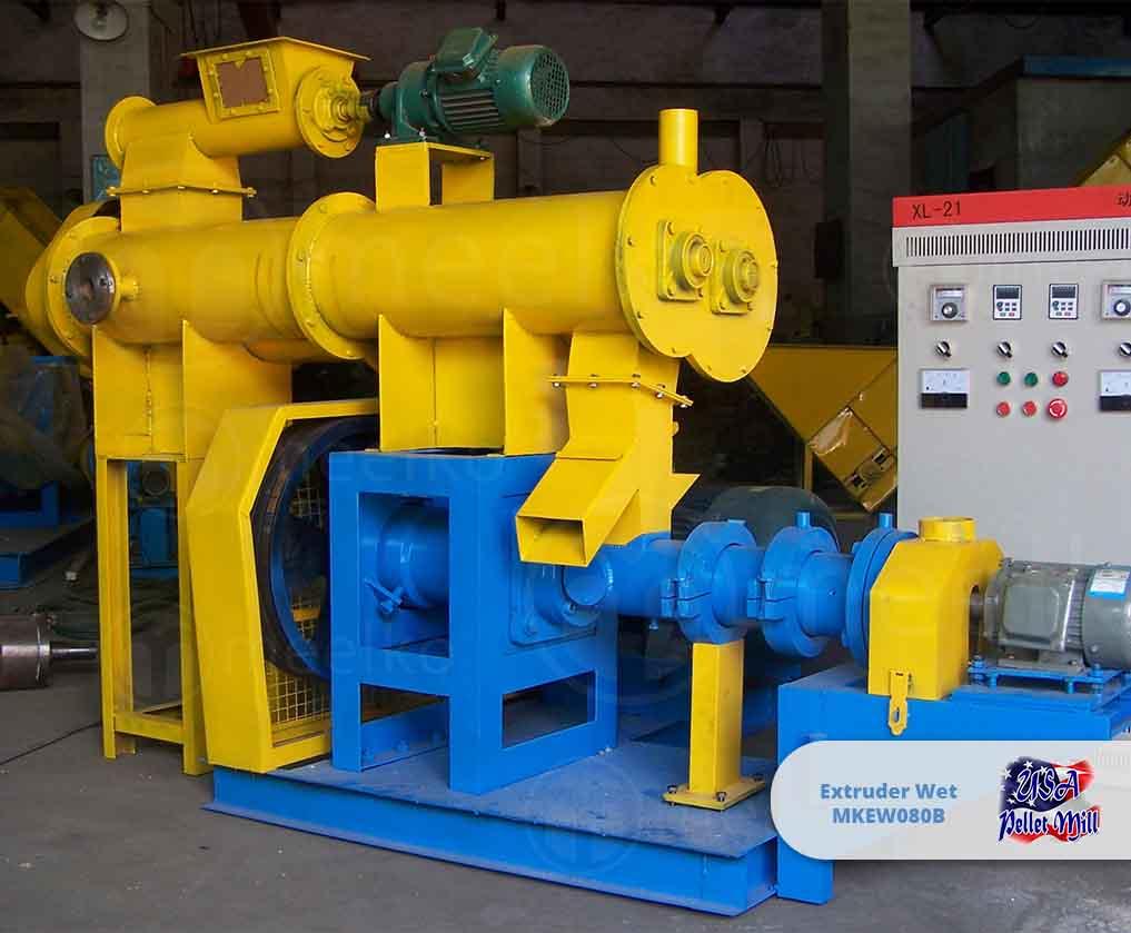 Extruder Wet 22KW MKEW080B
