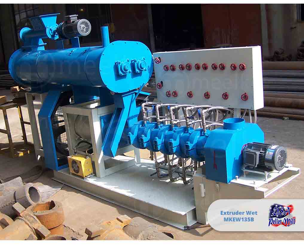 Extruder Wet 75KW MKEW135B
