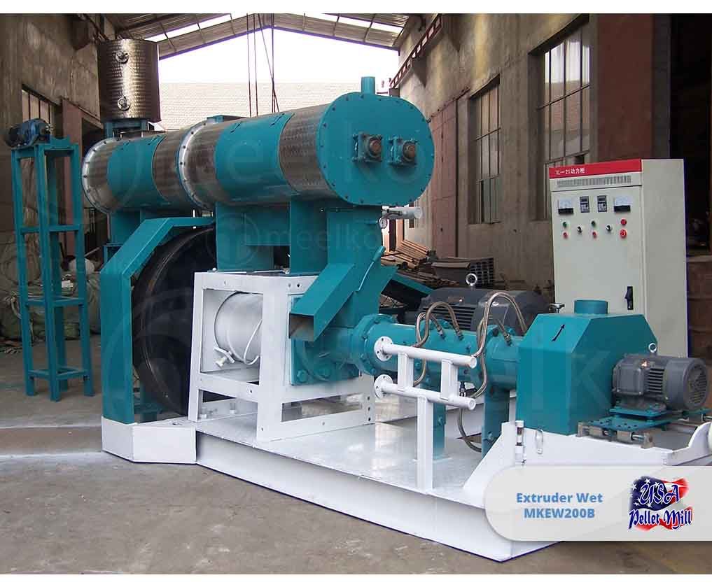 Extruder Wet 132KW MKEW200B