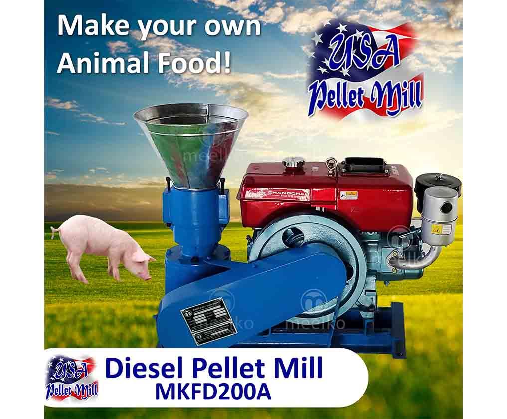 Pellet Mill Flat Die MKFD200A