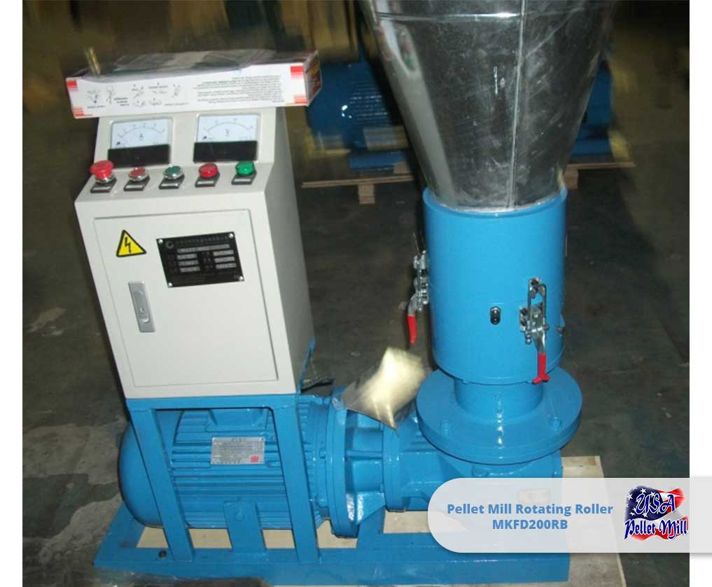 Pellet Mill Rotating Roller MKFD200RB