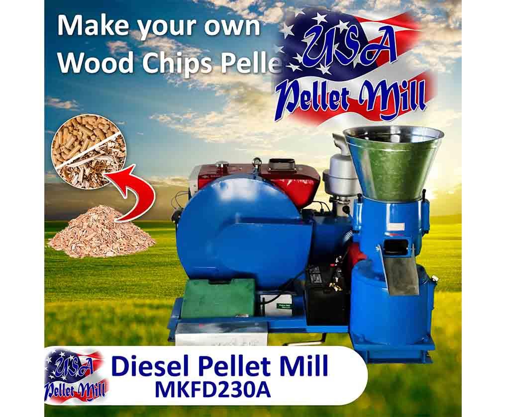 Pellet Mill Flat Die MKFD230A
