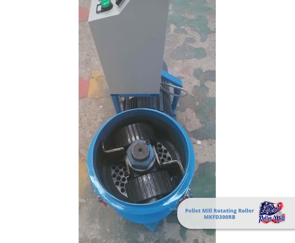 Pellet Mill Rotating Roller MKFD300RB