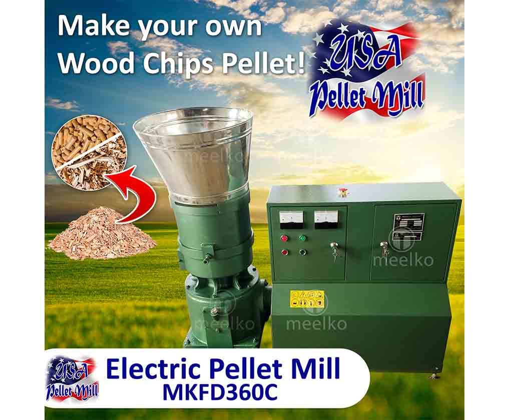 Pellet Mill Flat Die MKFD360C