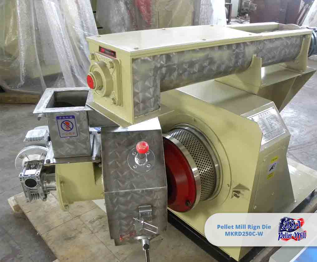 Pellet Mill Ring Die MKRD250C-W