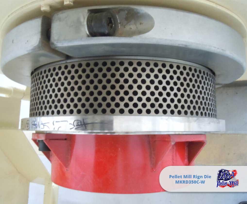 Pellet Mill Ring Die MKRD350C-W