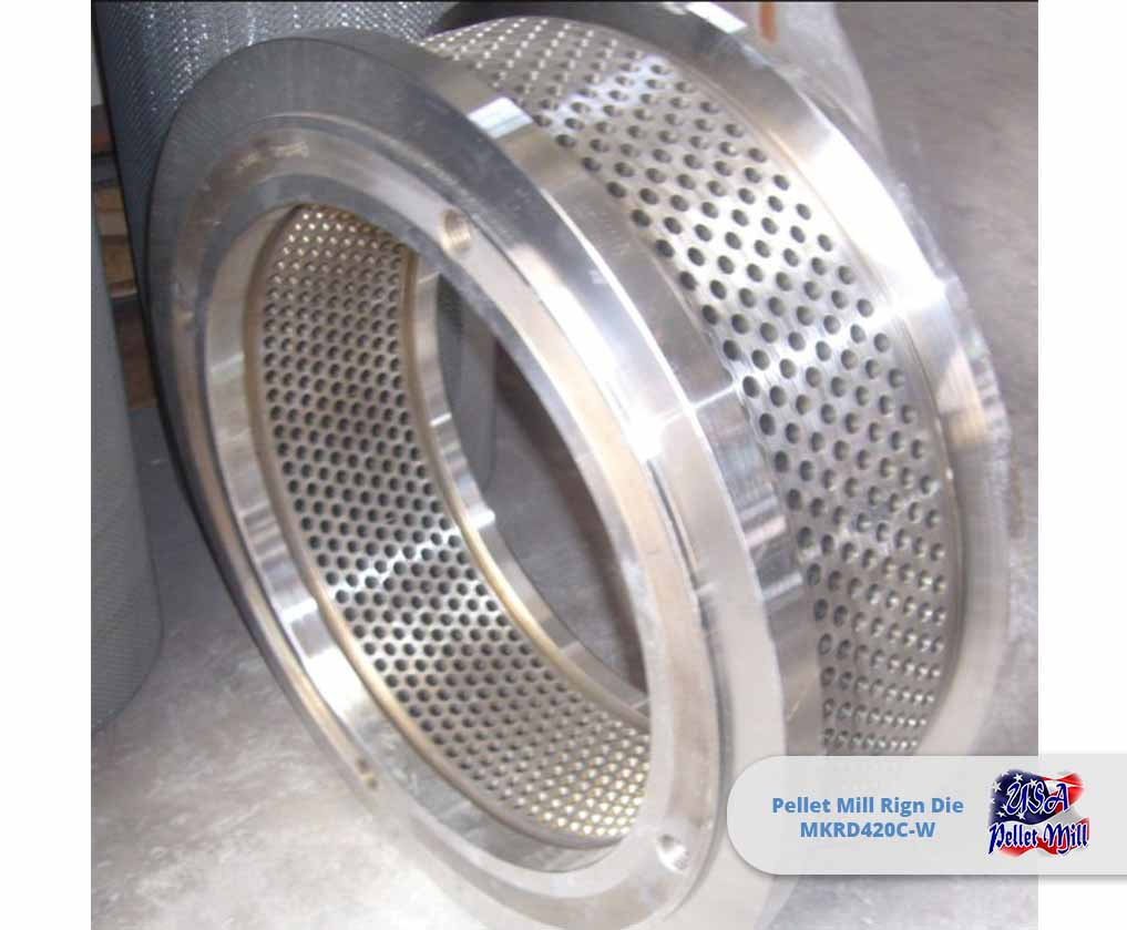 Pellet Mill Ring Die MKRD420C-W